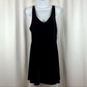 Victoria's Secret velvet knit mini LBD M